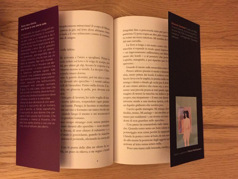 storia di due donne e di unp specchio edoardo zambelli