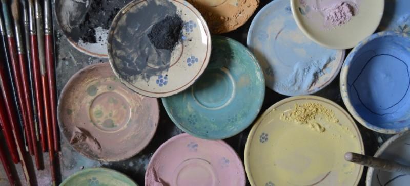 piattini ceramica di grottaglie